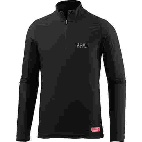 GORE® WEAR Base Layer Funktionsshirt Herren schwarz