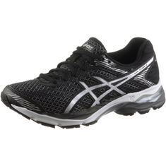 ASICS GEL-FLUX 4 Laufschuhe Damen BLACK/SILVER/CARBON