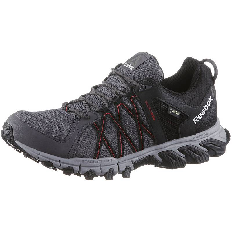 8274f83eac5ceb Reebok TRAILGRIP RS 5.0 GTX Walkingschuhe Herren grey-black-red-pewter