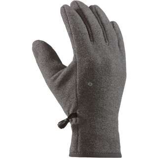 Barts Fleece Fingerhandschuhe Kinder heather grey