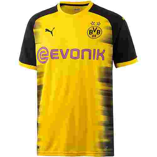 PUMA Borussia Dortmund 17/18 International Fußballtrikot Herren Cyber Yellow-Puma Black