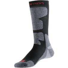 Salomon EXIT Wandersocken black-red