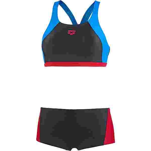 Arena Rem Bikini Set Damen black/red/pix blue