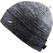 H.A.D. Brushed Beanie gradient melange black