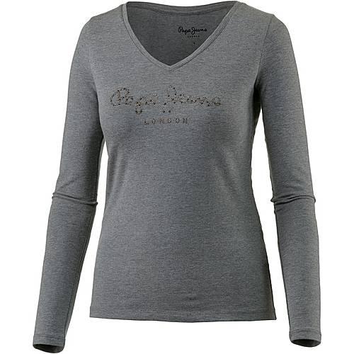 Pepe Jeans Langarmshirt Damen middle grey