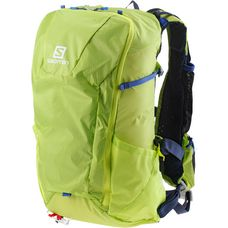Salomon Peak 20 Wanderrucksack acid lime/surf web