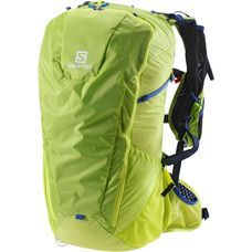 Salomon Peak 30 Wanderrucksack acid lime/surf web