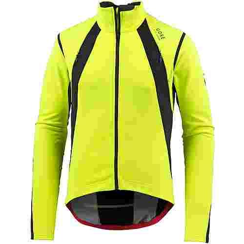 GORE® WEAR Oxygen Fahrradjacke Herren gelb