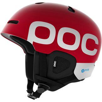 POC Auric Cut Backcountry SPIN Skihelm bohrium red