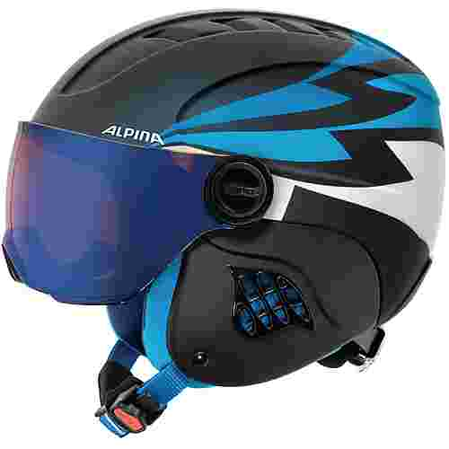 ALPINA Carat Le Visor HM Visierhelm Kinder nightblue-denim matt