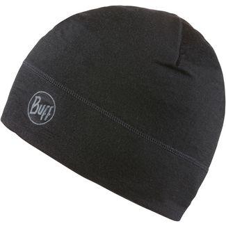 BUFF Merino Wool 1 Layer Hat Beanie solid black
