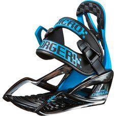 Nitro Snowboards MICRO CHARGER Snowboardbindung Kinder BLUE