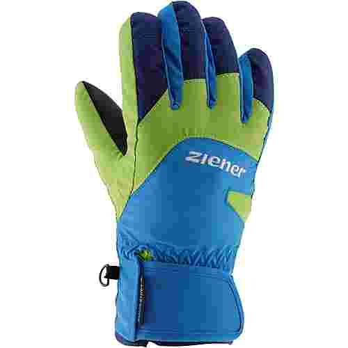 Ziener Lizzard Fingerhandschuhe Kinder persian blue