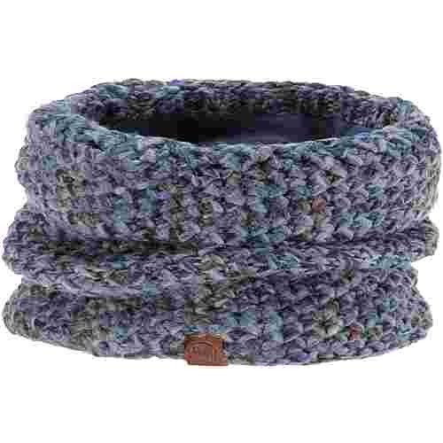 BUFF KNITTED & POLAR NECKWARMER MARGO Loop blue