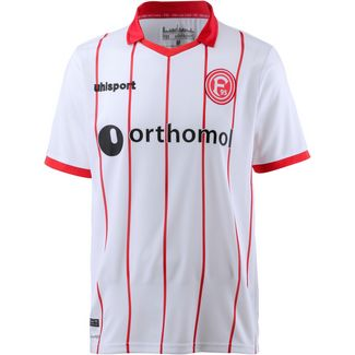 Uhlsport Fortuna Düsseldorf 17/18 Heim Fußballtrikot Herren weiß/rot