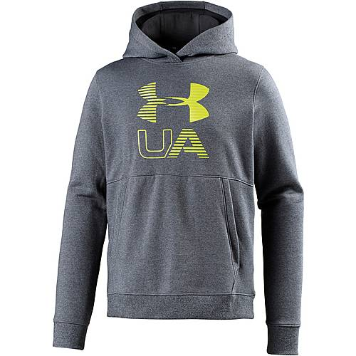 Under Armour Threadborne Graphic Hoodie Herren STEALTH GRAY