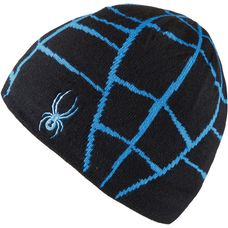 Spyder Web Beanie Herren black/french blue