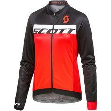 SCOTT RC AS Fahrradtrikot Herren black/tangerine orange