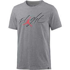 Nike M JSW TEE BRAND 4 T-Shirt Herren carbon heather-black-university red