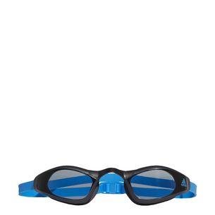 adidas Persistar Race Unmirrored Schwimmbrille Herren Smoke Lenses-Bright Blue-Bright Blue