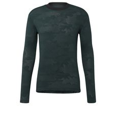 adidas ID Camo Tee Longshirt Herren Green Night -Utility Ivy