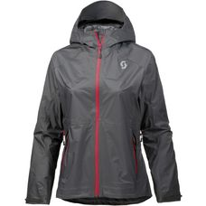 SCOTT DRYO Fahrradjacke Damen dark grey/ruby red