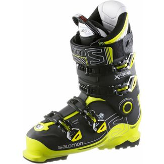 Salomon X Pro 110 Skischuhe black-acide green-anthracite