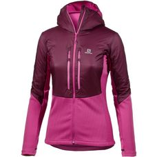 Salomon Drifter Fleecejacke Damen Fig