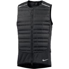 Nike Aeroloft Laufweste Herren black-black-metallic-silver
