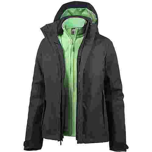 Jack Wolfskin Iceland Voyage 3in1 Doppeljacke Damen midnight blue im Online Shop von SportScheck kaufen