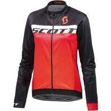 SCOTT RC AS WP Fahrradtrikot Damen black/tangerine orange