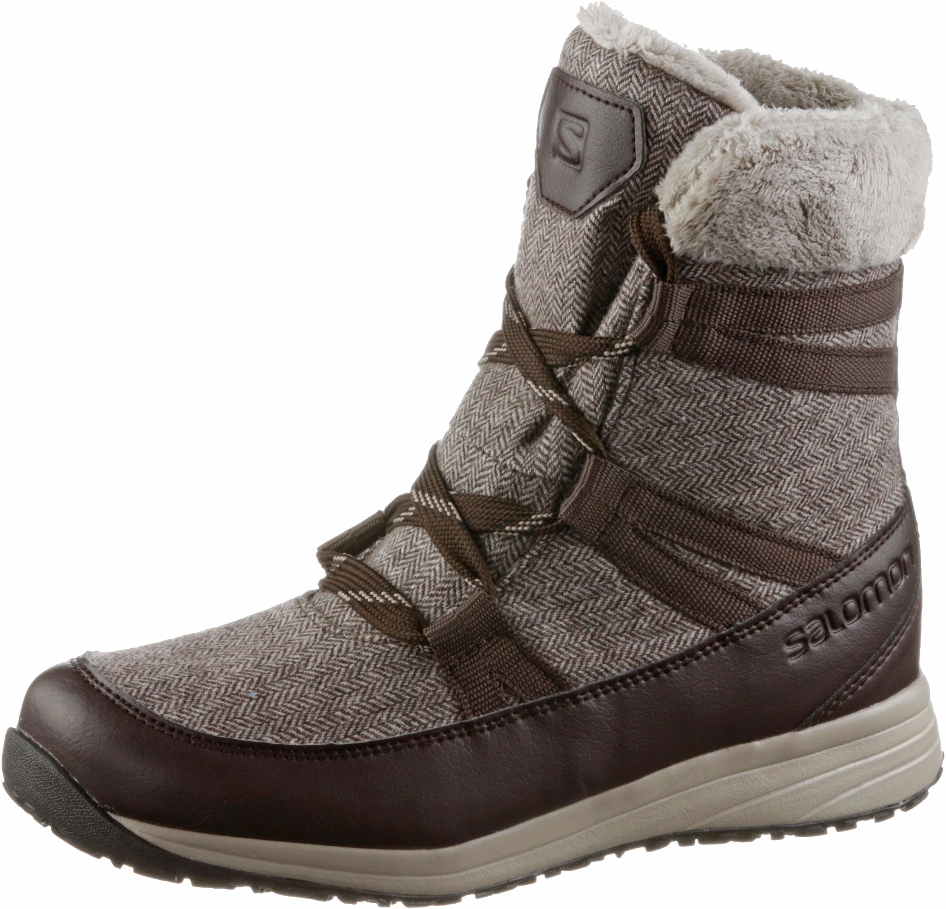 Salomon HEIKA CS WP Winterschuhe Damen schwarz-quarry-alloy im Online Online Online Shop von SportScheck kaufen Gute Qualität beliebte Schuhe e1f177