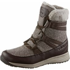 Salomon HEIKA CS WP Winterschuhe Damen black coffee-cinder-black
