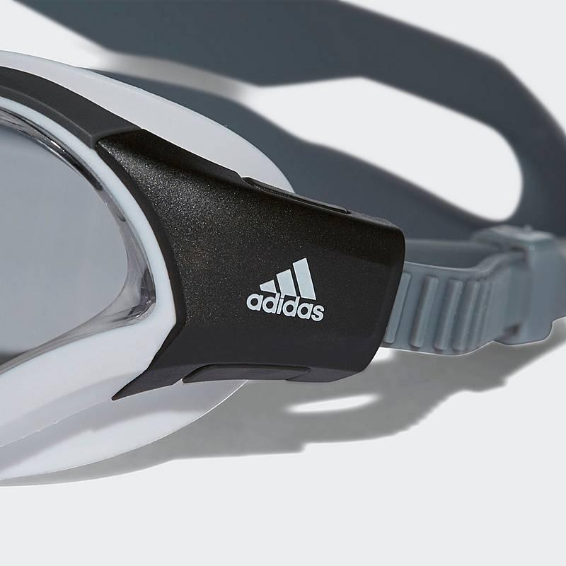 adidas Persistar 180 Unmirrored Schwimmbrille M WHITE/GREY/WHITE YGDh2