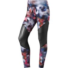 Onzie Track Tights Damen fast flower black mesh