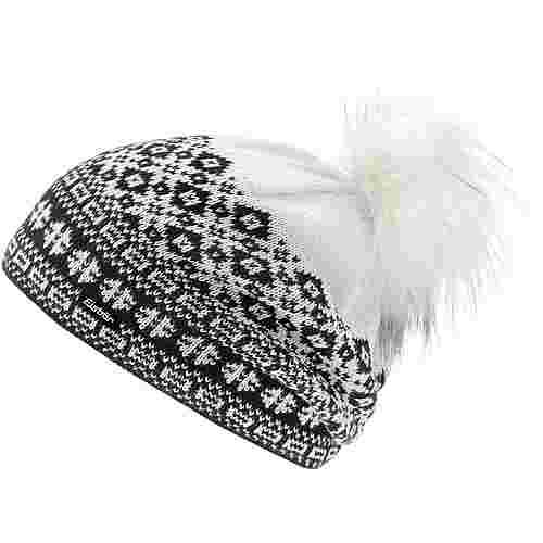 Eisbär Jördis Bommelmütze schwarz-weiß