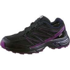 Salomon WINGS ACCESS 2 GTX® Laufschuhe Damen Black/Black/Grape Juice
