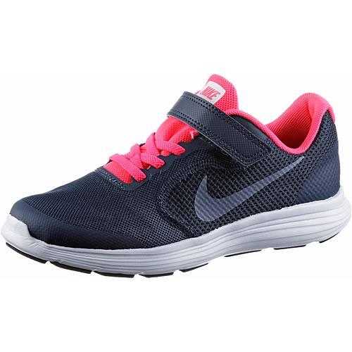 Nike Revolution 3 Laufschuhe Kinder thunder-blue-dark-sky-blue