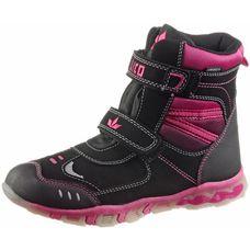 BRÜTTING Winterschuhe Kinder schwarz-pink