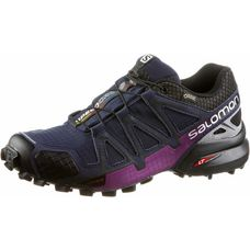 Salomon SPEEDCROSS 4 NOCTURNE GTX® W Laufschuhe Damen Evening B/R.Silver/Grape Juice