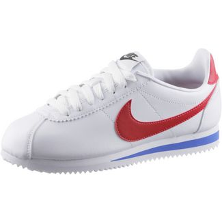 Nike CLASSIC CORTEZ LEATHER Sneaker Damen white-varsity red-varsity royal