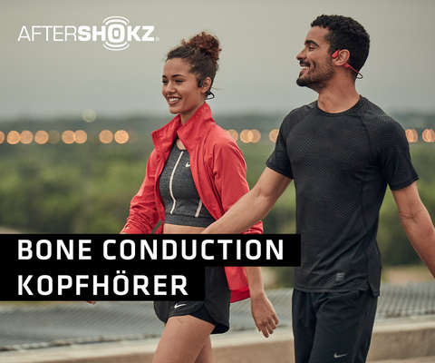 Aftershokz Bone Conduction-Kopfhörer