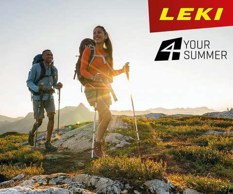 Wanderstöcke von Leki