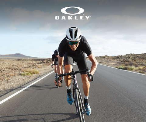 Fahrradbrillen von Oakley