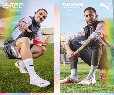 Die neuen Fußballschuhe von Puma