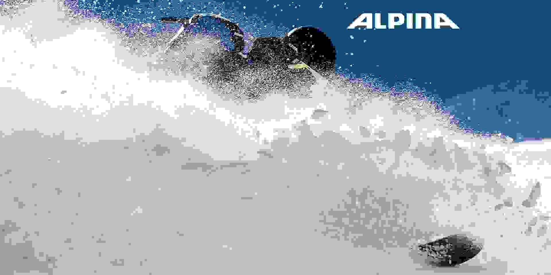 Ski Tiefschnee