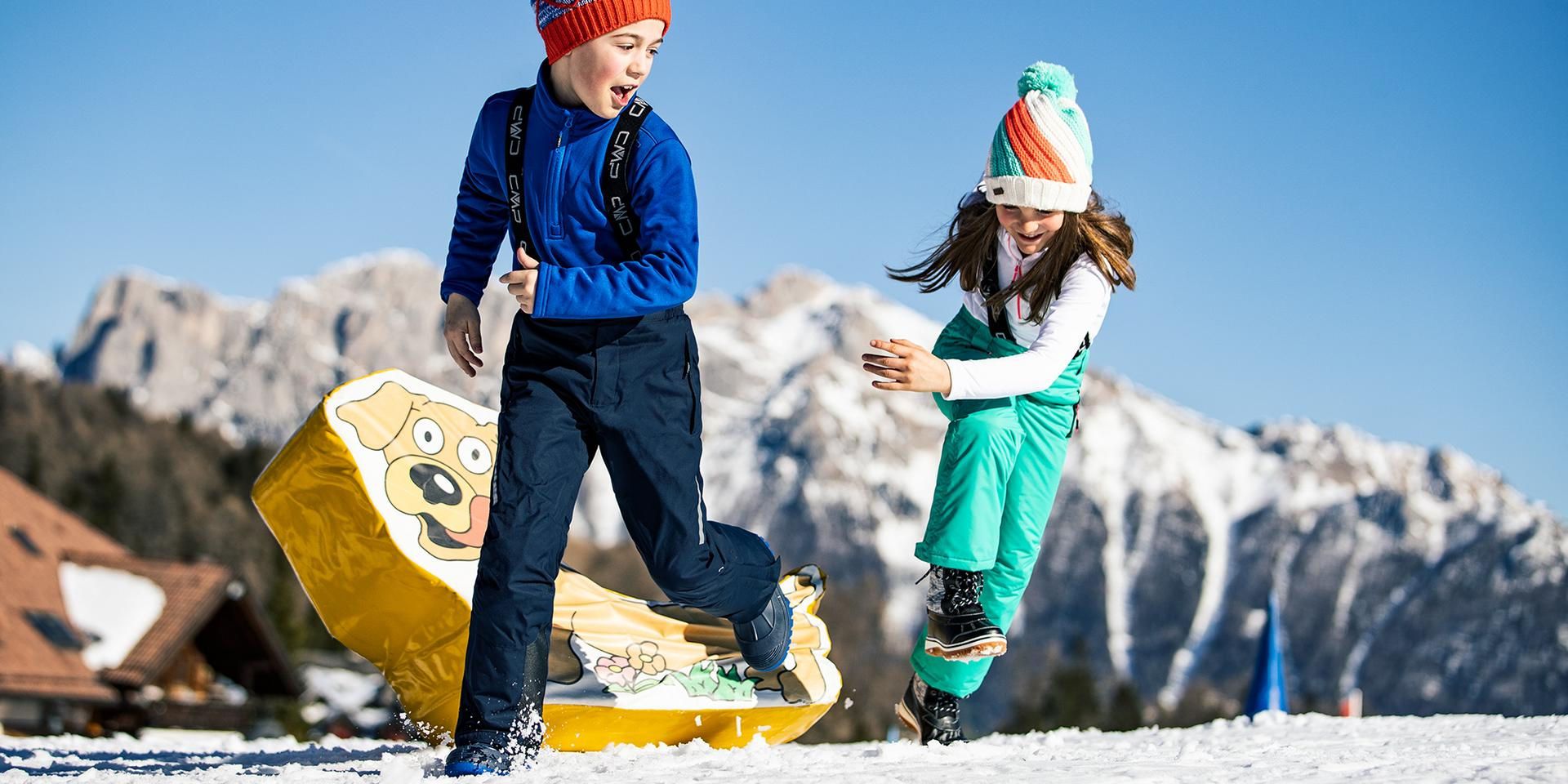 Unser Skisortiment für Kinder