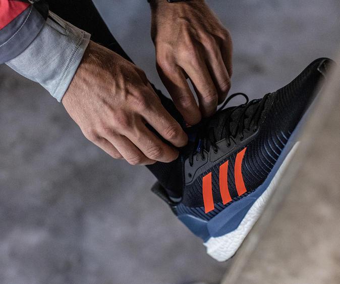 Erlebe den Adidas Solarglide Laufschuh