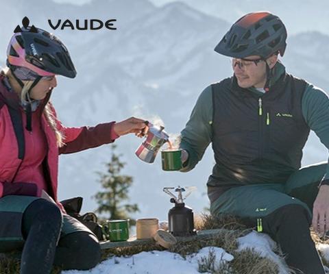 Atmungsaktives Sortiment von Vaude