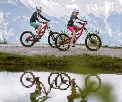 Fahrradsortiment für Kinder